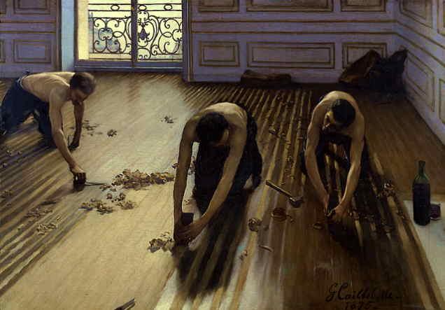 """Gustave Caillebotte, """"Les Raboteurs de Parquet"""""""
