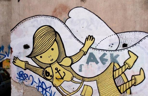 Keramikos-AEK graffiti