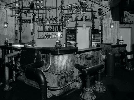 The bar at lab.oratory