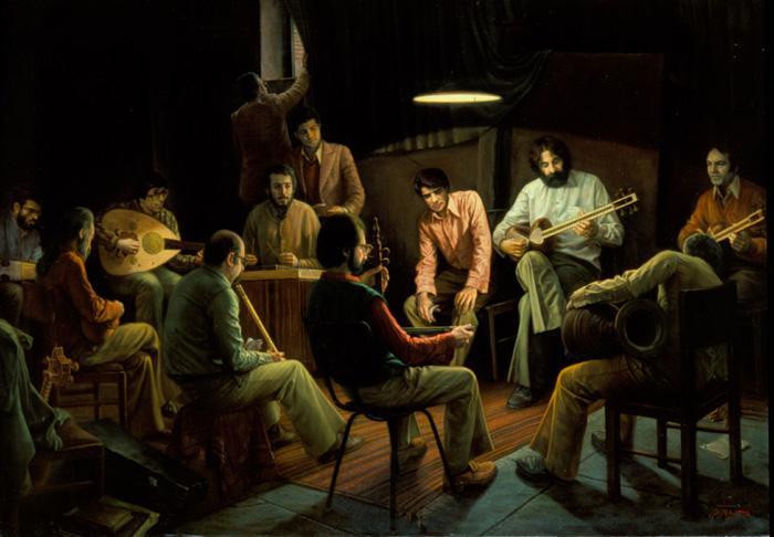 Iman Maleki, Composing Music Secretly (1996)