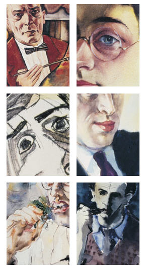 Self-portraits from the Feldberg Collection