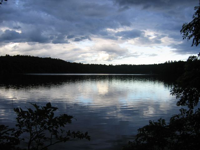 Walden Pond, photo by Richard Lenat