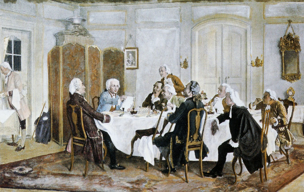 Emil Doerstling, Kant and Friends at Table