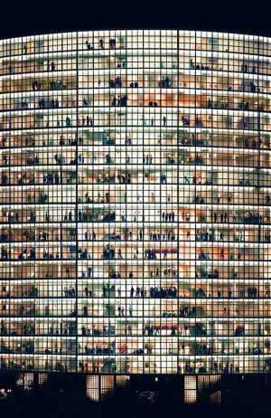 Andreas Gursky, May Day V (2006)