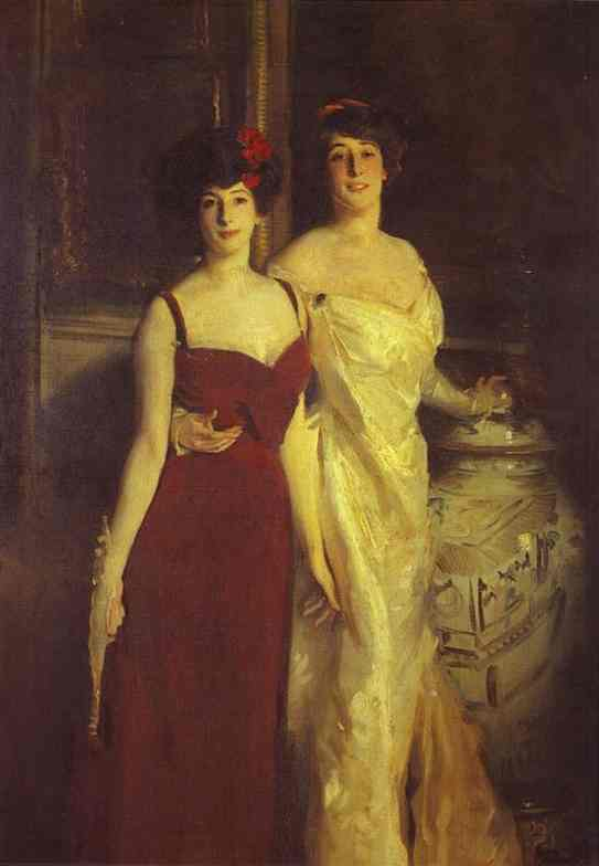John Singer Sargent, Ena And Betty Daughters of Asher And Mrs Wertheimer