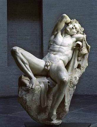 The Barberini Faun