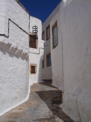 Street in Chora, Patmos