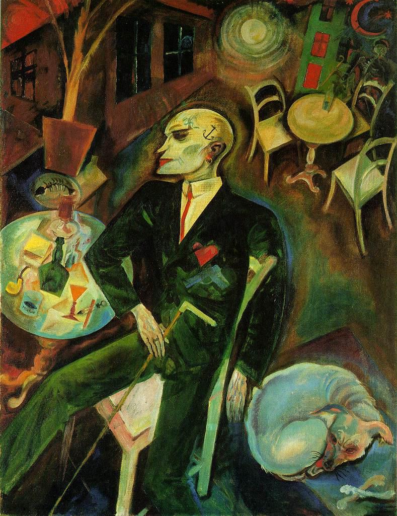 Georg Grosz, Lovesick Man, 1916