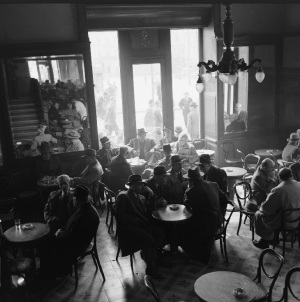 Harissiadis, Coffeehouse