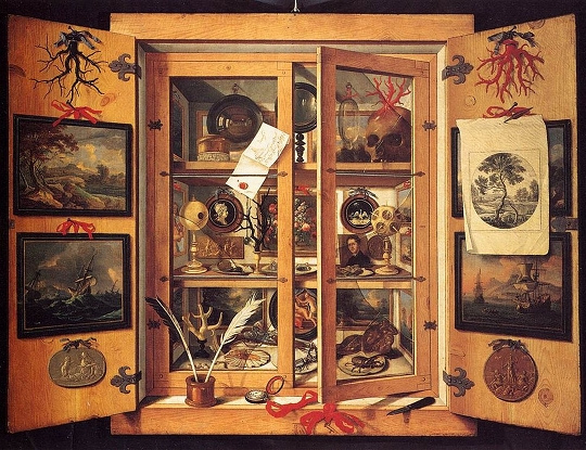 Cabinet of Curiosities (ca.1695) by Domenico Remps