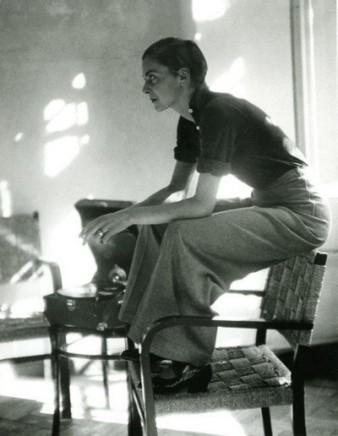 Marianne Breslauer, portrait of Lisa  von Cramm 1934