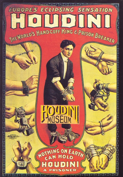 Houdini Museum Card