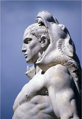 Hercules, Silvio Canevari (1931), in the Stadio dei Marmi, Rome