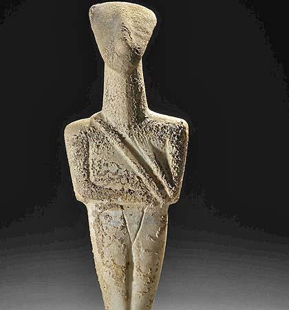 Cycladic Male Combatant, ca. 2200 BCE