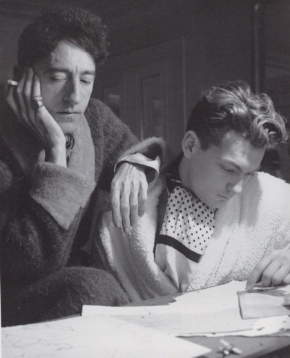 Jean Cocteau and Jean Marais, sometime lovers and lifelong friends