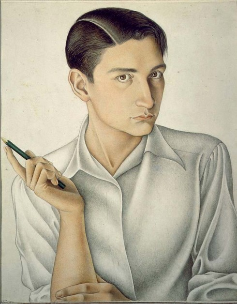 Self-Portrait, Emilio Baz Viaud (1935)