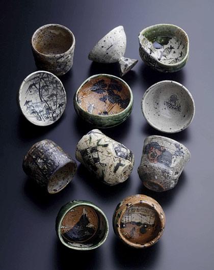 Tea cups by Shogo-Ikeda