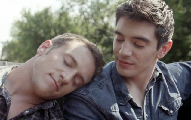 "Scene from Steve Grand's ""All-American Boy"""