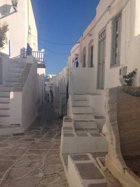 The kastro on the island of Sifnos, author's photograph