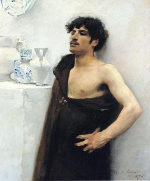 Young Man in Reverie, John Singer Sargent, 1876