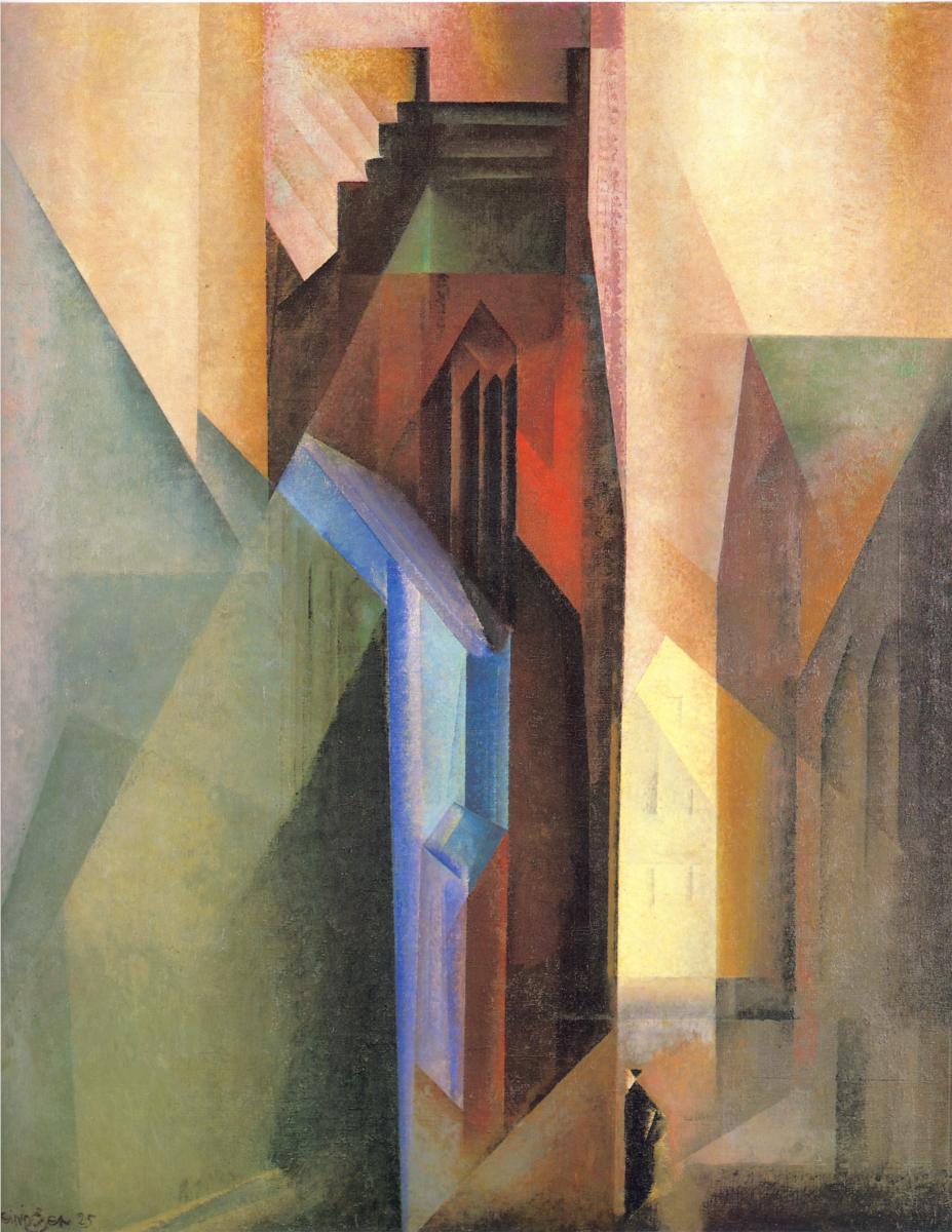 Lyonel Feininger, Torturm II, 1925