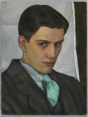 """Luigi Lucioni, """"Paul Cadmus"""", 1928"""