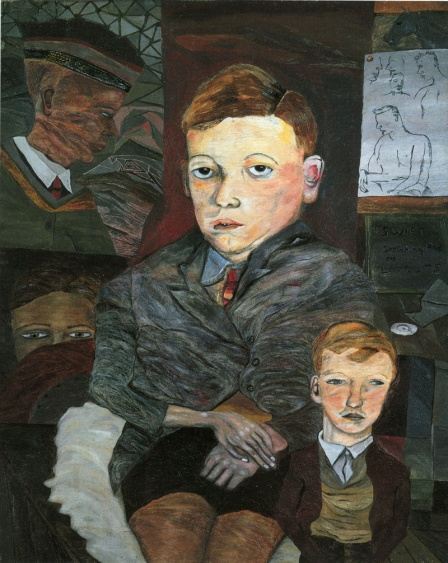 Lucian Freud: The Village Boys,1942