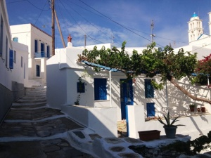 Village of Ano Petali on the island of Sifnos
