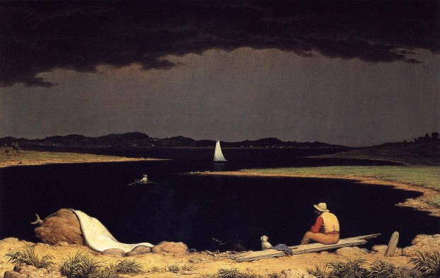 Approaching Thunder Storm,  Martin Johnson Heade, 1859