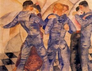 """Charles Demuth, """"Dancing Sailors"""", 1917"""