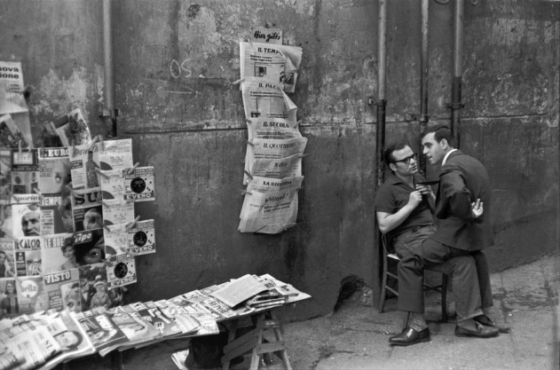 Henri Cartier Bresson, Naples, 1960