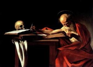 Caravaggio, San Gerolamo Scrivente