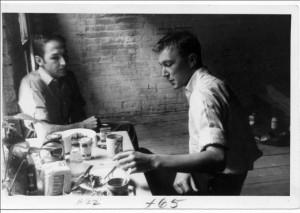 Jasper Johns and Robert Rauschenberg