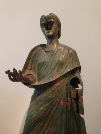 Portrait statue of Julia Aquila Severa in the National Archaeological Museum of Greece