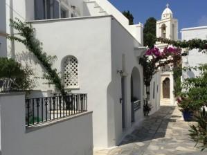 Street in Panormos, Tinos